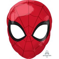 Spiderman Mask Foil Balloon