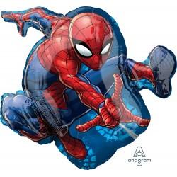 Spiderman Shape Foil Balloon
