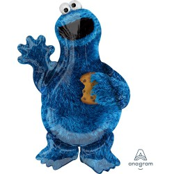 Sesame Street Cookie Monster Shape Foil Balloon