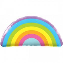 Radient Rainbow Shape  Foil Balloon