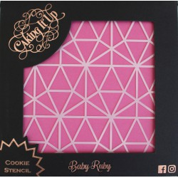 Cookie Stencil- Baby Ruby