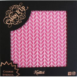 Cookie Stencil- Knitted