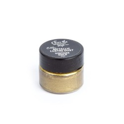 Over the Top- Edible Metallic  Lustre Dust - Vintage Gold 10ml