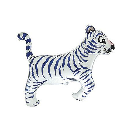White Tiger Foil Balloon
