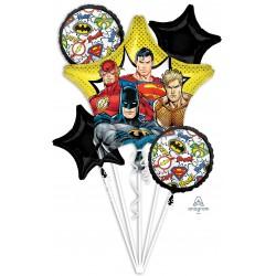 Justice League Foil Balloon Bouquet