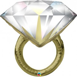 Diamond Ring Shape Foil Balloon