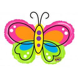 Mighty Beautiful Butterfly Foil Balloon