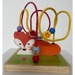 Wooden Fox Maze Toy