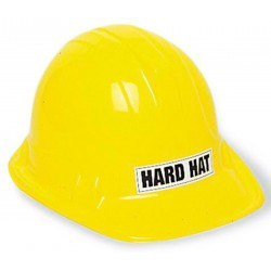 Plastic Construction Hat- Yellow