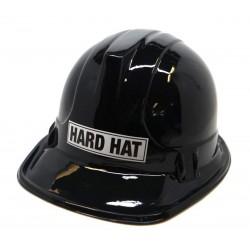 Plastic Construction Hat- Black