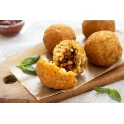 Arancini with Ragu Meat  Sauce