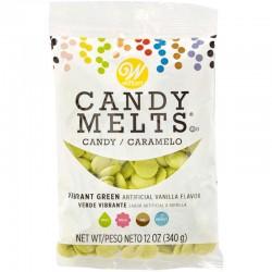 Candy Melts - Vibrant Green, Vanilla Flavor