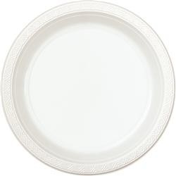 Unique Dinner Plates x 8 - White