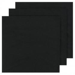 2 Ply Dinner Napkins 100pk - Black