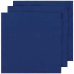 2 Ply Lunch Napkins 100pk - Blue
