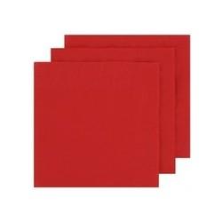2 Ply Dinner Napkins 100pk - Red