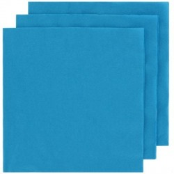 2 Ply Lunch Napkins 100pk - Azure