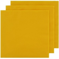 2 Ply Lunch Napkins 100pk - Yellow