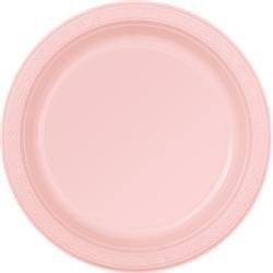 Dinner Plates 8 Pce - Pink